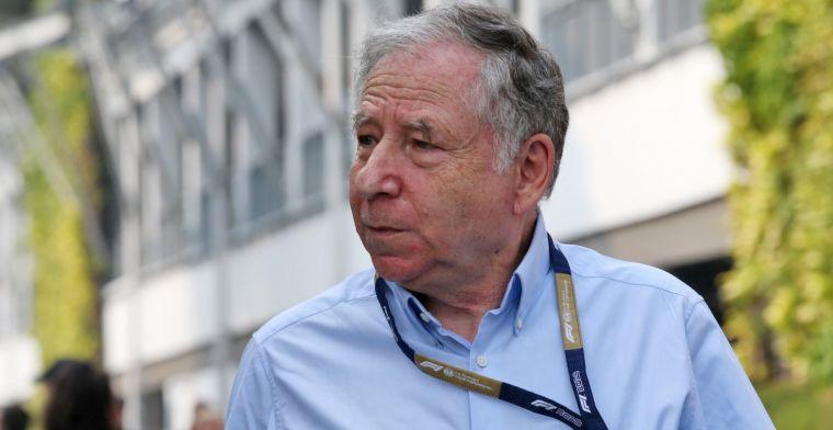 Todt gaat niet langer door als FIA-president, 'zelfs niet als erom gevraagd wordt'