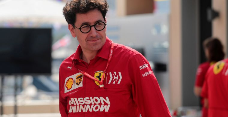 Binotto after victory at Monza: Went to Seb first, seemed important to me