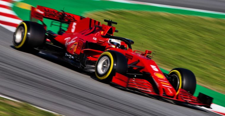 Ferrari adapts the design of  the SF1000 after Barcelona tests