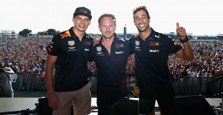 Red Bulls Horner says F1 owners would bail out struggling teams