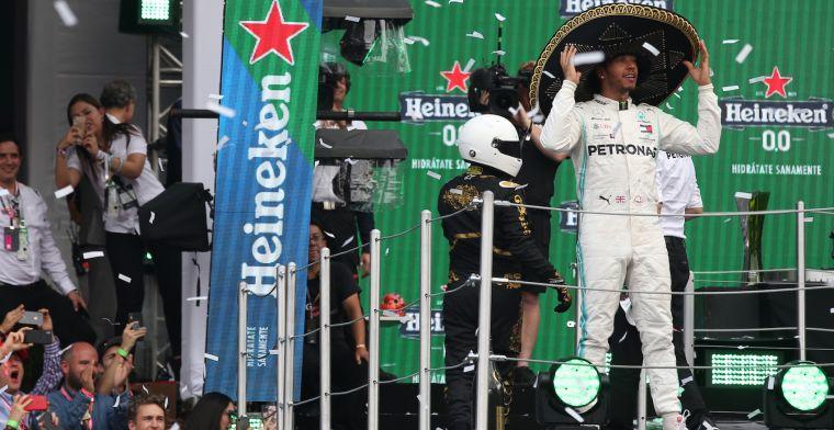 """Hamilton niet bezig met recordjacht: """"Schumacher inhalen was nooit een doel"""