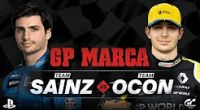 Image: LIVESTREAM: Sainz and Ocon compete against each other in online competition