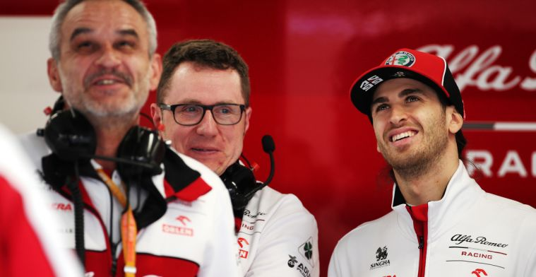 Giovinazzi: I have to see Kimi as a teammate as an advantage
