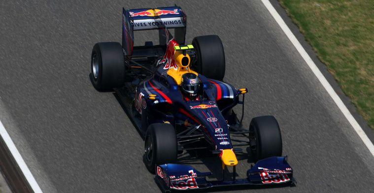 Vandaag 11 jaar geleden: Eerste pole position voor Red Bull Racing