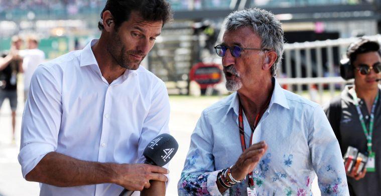 Jordan over Schumacher: Ik zou willen dat hij de beste was, maar dat is niet zo