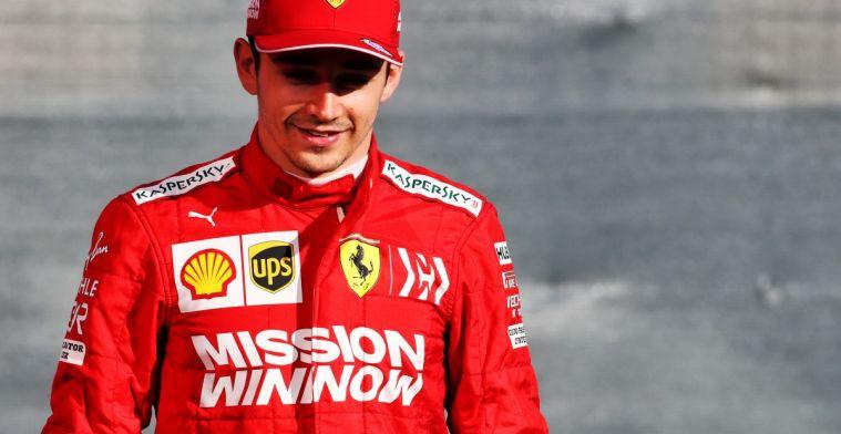 Leclerc weerstaat druk van Albon en wint opnieuw Virtuele Grand Prix