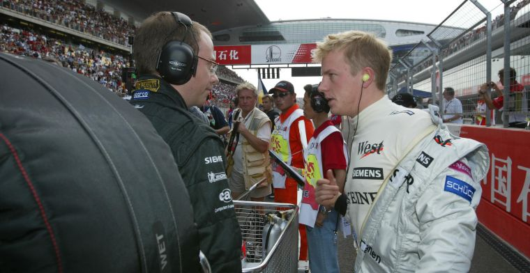 Coulthard about bonding with Raikkonen: ''When you're older you don't notice''