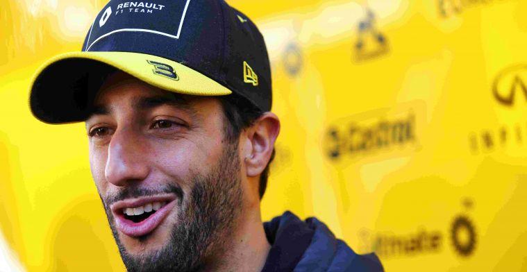 Plooij suspects dissatisfied Renault: Feedback Ricciardo different from Nico's