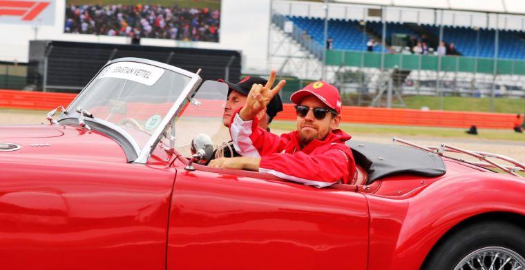 Instagram for Vettel? No longer normal to not be on social media.