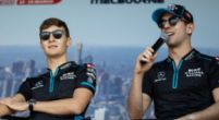 Afbeelding: Latifi en Russell vliegen elkaar in de haren tijdens online race