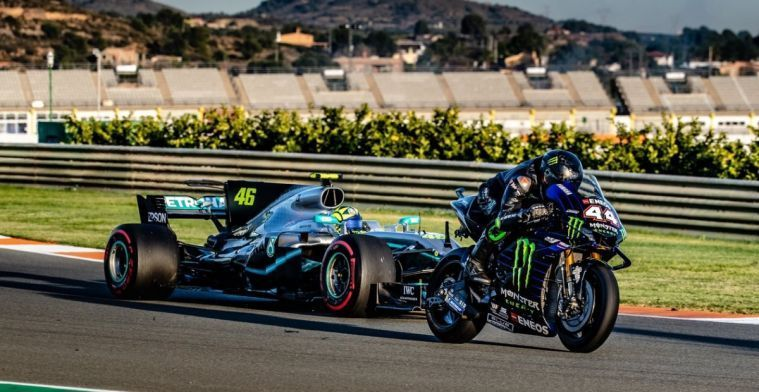 Yamaha team boss about Hamilton in MotoGP: It was more than a promo