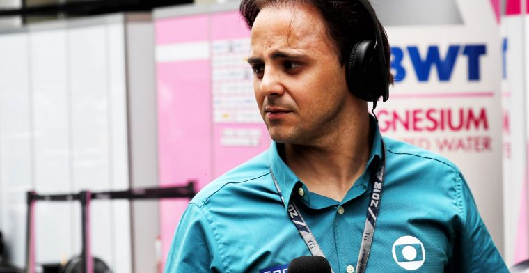 Massa reveals: ''I've suffered a lot as a teammate of Alonso''