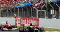 Image: The Grand Prix of Spain in 2012: Pastor Maldonado's day