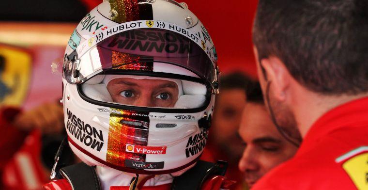 Column: Het is eindelijk duidelijk dat Vettel niet tot allerbesten behoort