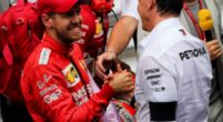 Image: Mercedes team boss Toto Wolff flirts with Sebastian Vettel