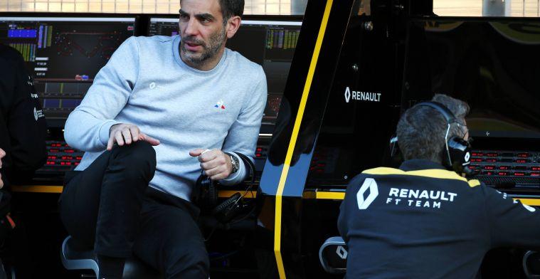 Abiteboul feliciteert Verstappen: ''Dat salaris is nog niet meegenomen''