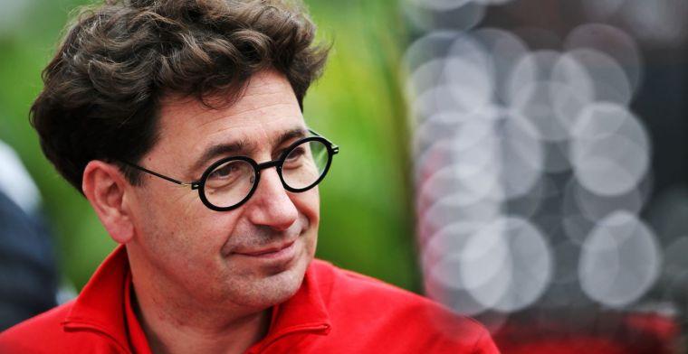 Binotto: Ferrari and Vettel no longer shared the same goals