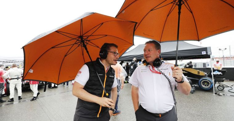 Mclaren top responds to the arrival of honey badger Daniel Ricciardo