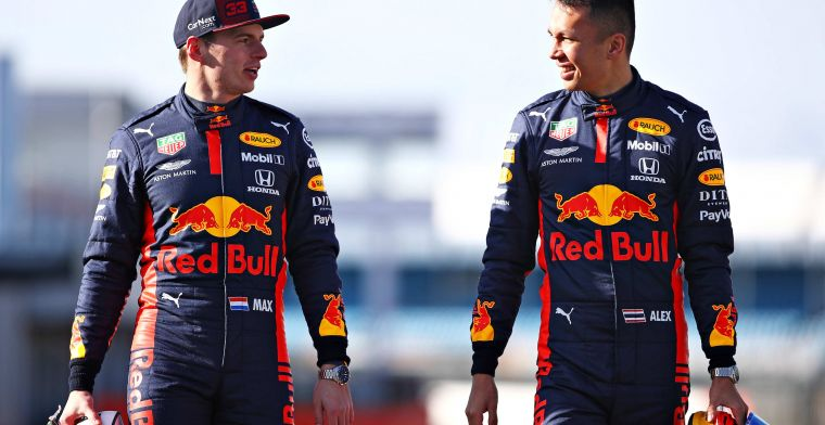 Albon: Red Bull hasn't set me any specific targets for 2020