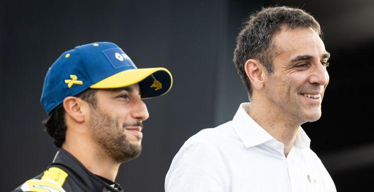 Komt er een voortijdig einde aan Ricciardo bij Renault? Zie het zomaar gebeuren