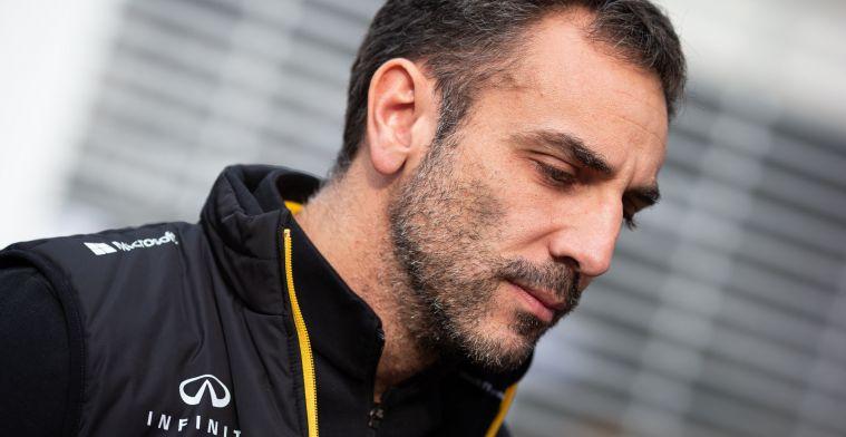 Column: Renault en Abiteboul staan voor lul door het vertrek van Ricciardo