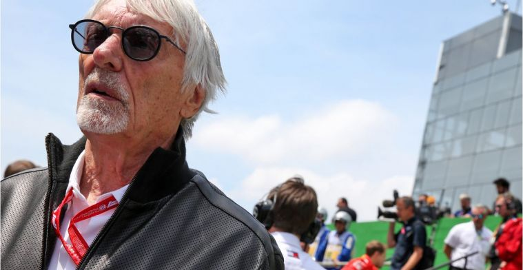 """Ecclestone: """"Mercedes zou moeten overwegen voor Vettel te gaan"""""""