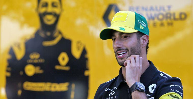 Mol kritisch op Ricciardo: 'Hij heeft de handdoek al in de ring gegooid'