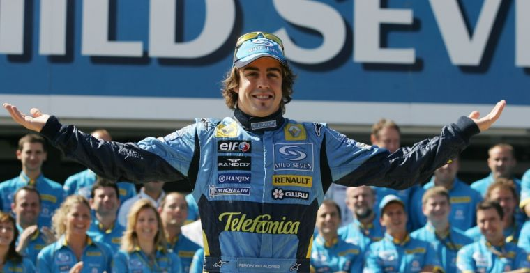Alonso would set a special record when returning to Renault