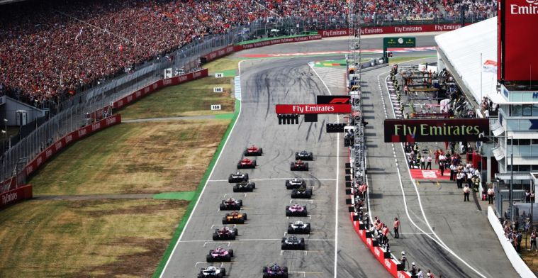 Formula 1 puts British government under pressure and bargains with Hockenheim