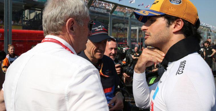 Sainz heeft veel te danken aan Red Bull, maar 'Verstappen zat daar'