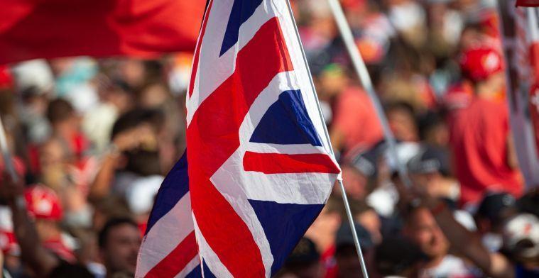 F1 niet uitgesloten van nieuwe coronamaatregelen Verenigd Koninkrijk