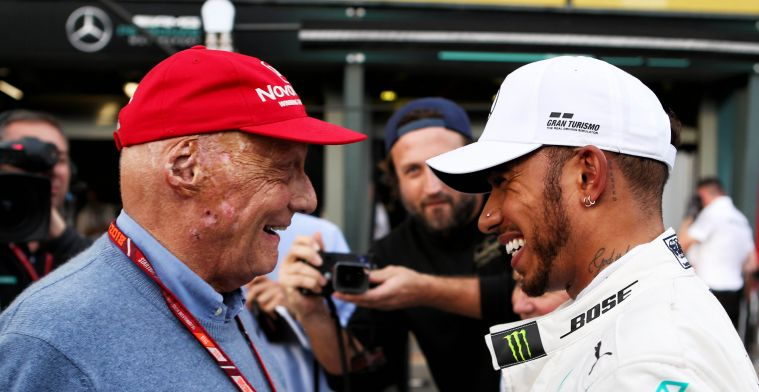 How Lauda almost stopped the arrival of Lewis Hamilton