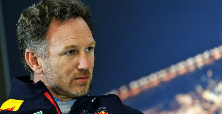 Horner looks at it calmly: Let's not forget that Mercedes has a place''