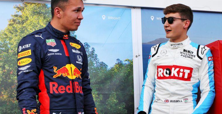 Russell mikt op Mercedes-zitje: ''Ze hebben het juniorenprogramma niet voor niks''
