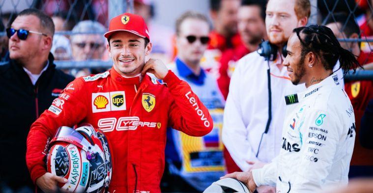 Wie traint het hardst? Verstappen, Hamilton of Leclerc?