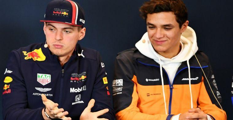 Verstappen en Norris aan de start van de virtuele 24-uur van Le Mans