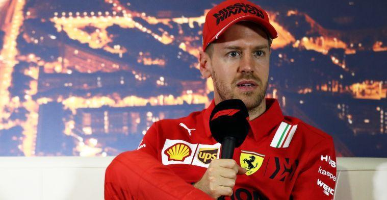 Vettel heeft bij Ferrari nooit de auto gehad om kampioen te worden