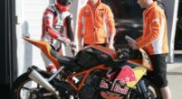Image: KTM factory team makes first meters during private test on the Red Bull Ring