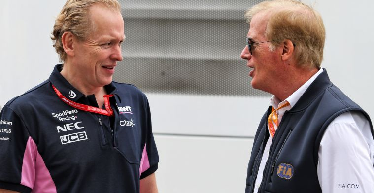 Racing Point boss happy: It offers opportunities against the top teams