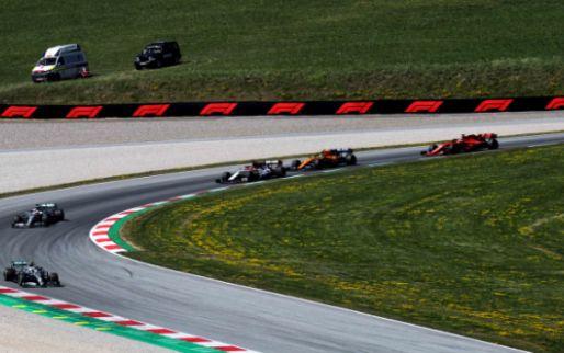 'F1 seizoen begint op 5 juli op de Red Bull Ring in Oostenrijk'
