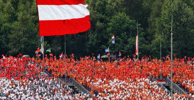 'Groen licht voor Grand Prix van Oostenrijk en toch fans welkom tijdens de race?'