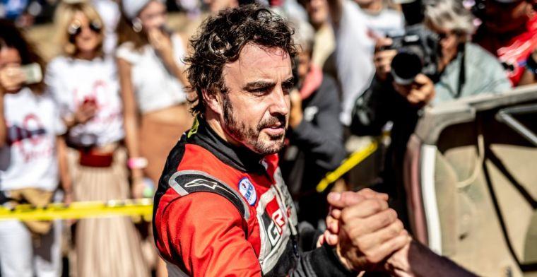 Alonso wint opnieuw in Legends Trophy; Button kampioen