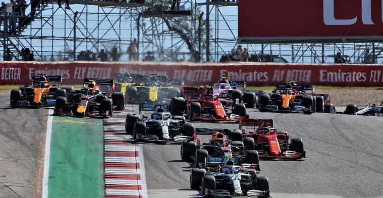 Mercedes het team dat reverse-grid sprintraces tegenhoudt