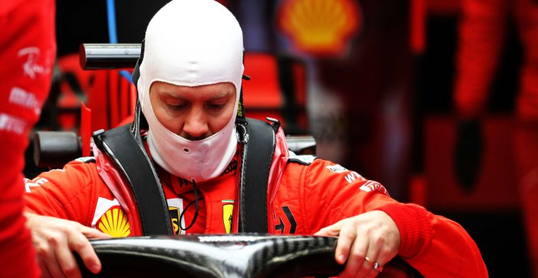 Former racing engineer Ferrari: There was a lot of pressure on Vettel in 2019