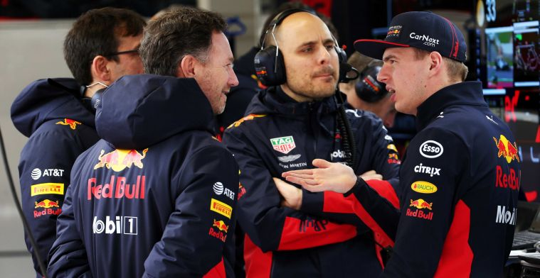 Horner happy with hard lesson for Verstappen: ''He learned a lot from that''