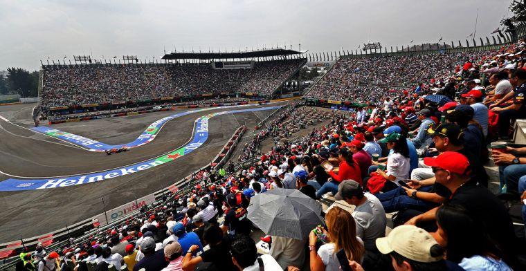 Kalender krijgt weer meer vorm: 'Mexico bevestigt Grand Prix in november'