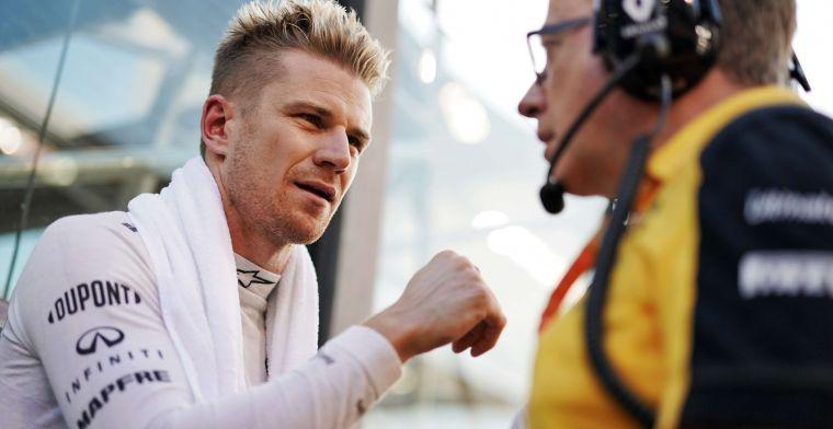 Hulkenberg imponeert in de Lamborghini: ''Hij gaf geweldige feedback''