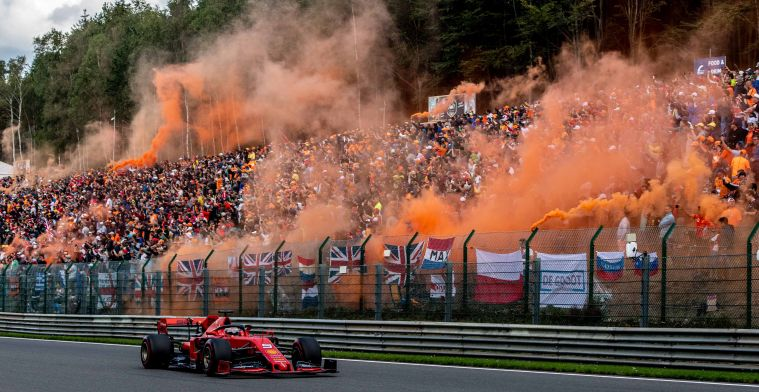 The Belgian Grand Prix gets an one year contract extension