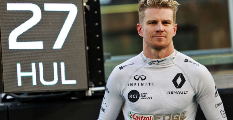 Hulkenberg sees options in F1: ''Break is fun, but I want to race again''