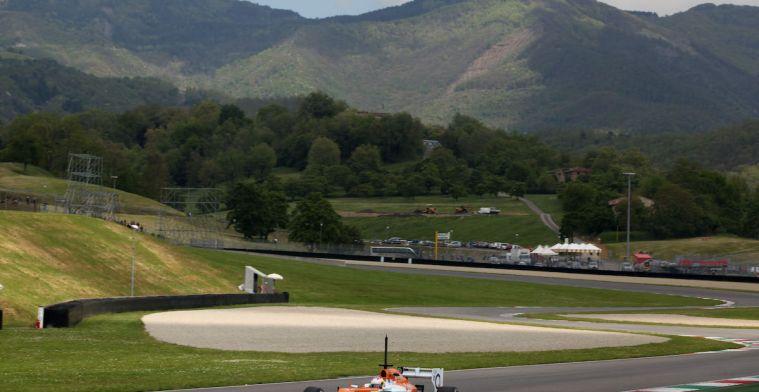 Moto GP race op Mugello geannuleerd, vrij baan voor F1 race